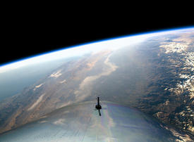 UAE-backed Virgin Galactic unveils new Mission Control for space tourism
